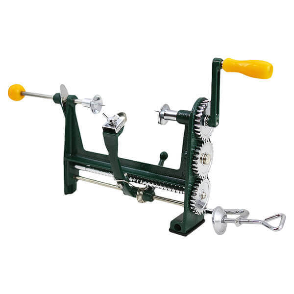 Hand Crank Peeler for Fruit Apple Clamp Mounted