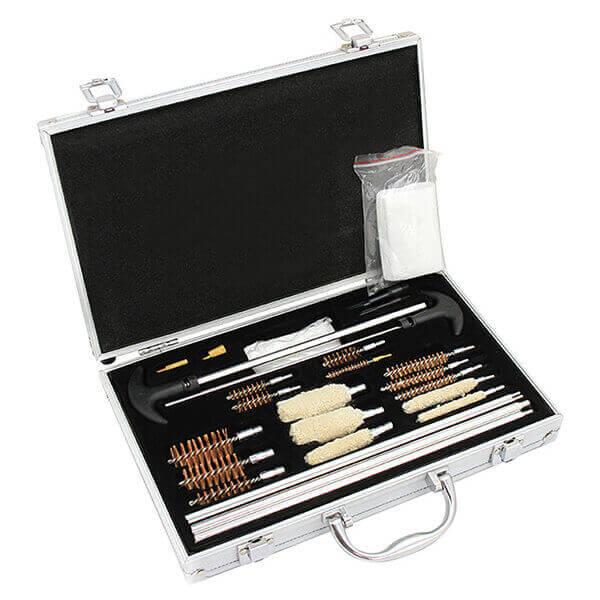 Gun Cleaning Kit Universal Rod Brush Set Pistol Rifle Shotgun Firearm