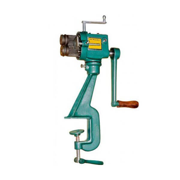 Tin Knocker Manual Crimper Beader Machine