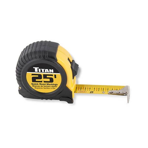 Titan Tools 25 Foot Tape Measure 10906