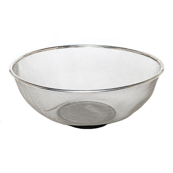 """Magnetic Tray Strainer 10-1/2"""" Stainless Steel Mesh Titan 11180"""