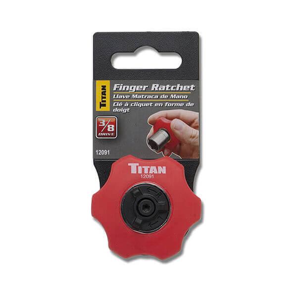 Titan Tools 3/8 Inch Dr. Finger Ratchet 12091