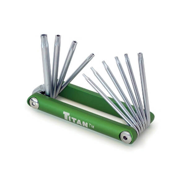 Titan Tools 10 Pc Tamper Resistant Star Key Set 12710