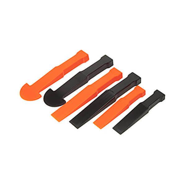 Titan Tools 6 Pc Multi Wedge Pry Trim Panel Tool Set 15048