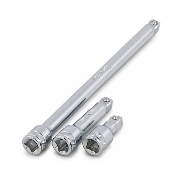 Titan Tools 3 Pc 3/8 Inch Dr. Wobble Ext Set 68157