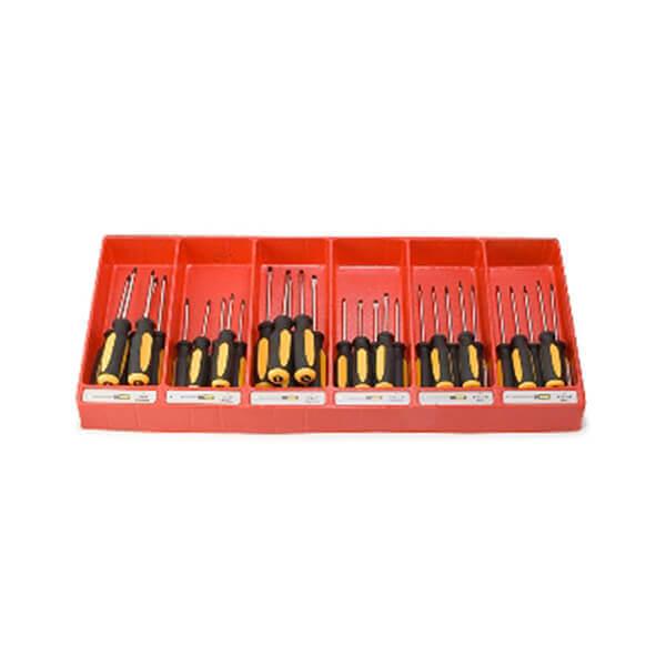 Titan Tools 60 Pc Screwdriver Display Screwdrivers-China Tray 98022