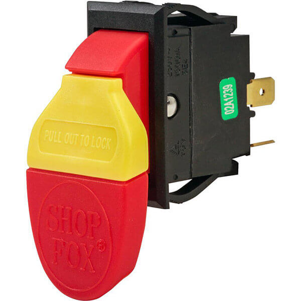 Shop Fox Paddle Switch On Off 110V 20 Amp Electric D2751