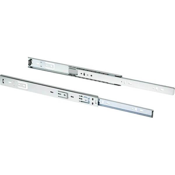 Shop Fox 14 Inch 3/4 Extension Drawer Slide 80 lb. Set of 2 D3024