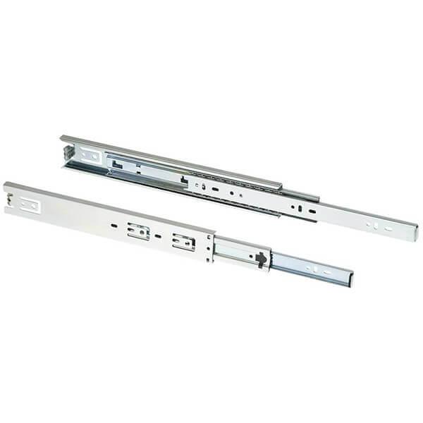 Shop Fox 12 Inch Full Extension Drawer Slide 100 lb. Set of 2 D3028