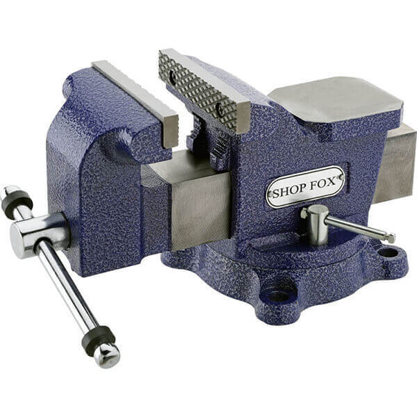 Shop Fox 4 Inch Bench Vise with Swivel Base D3248