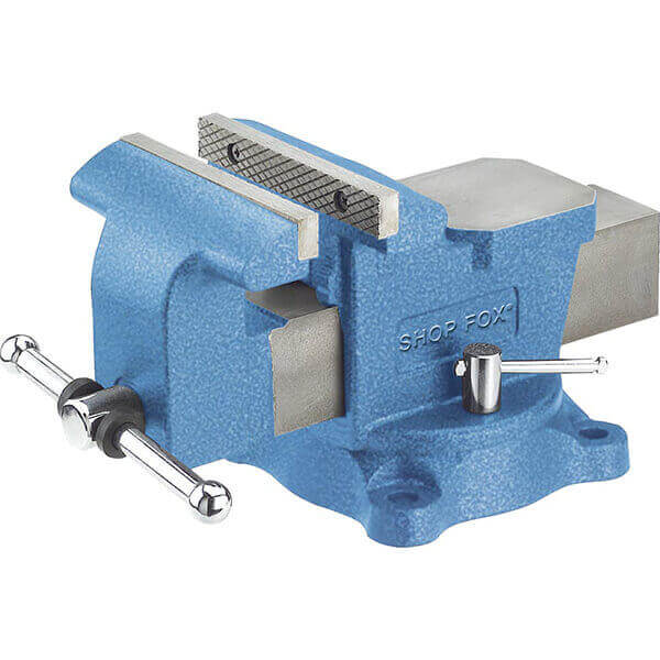 Shop Fox 6 Inch Bench Vise with Swivel Base D3250