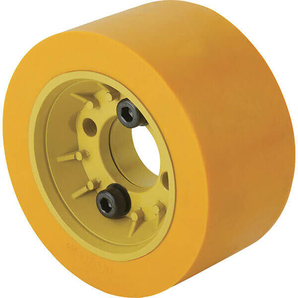 Steelex Flange with Poly Roller D3721
