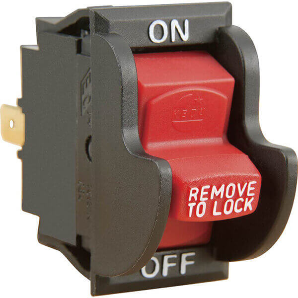 Woodstock ON / OFF Locking Toggle Safety Electrical Switch D4163