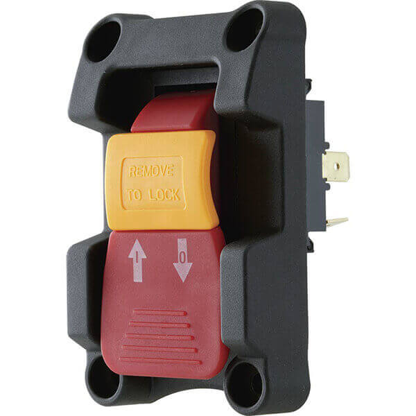 Woodstock Paddle Switch  ON / OFF Electric Safety Locking 2 HP D4166