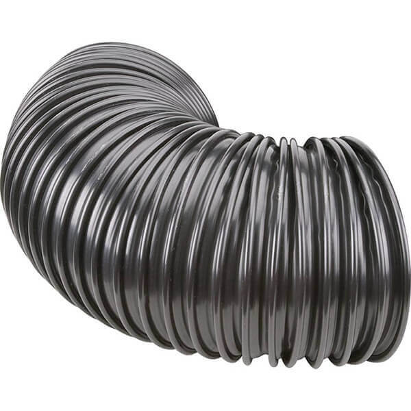 Woodstock Dust Collection Hose 3 Inch x 6 Inch Black D4209