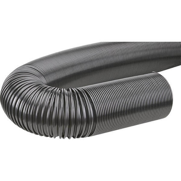 Woodstock Dust Collection Hose 4 Inch x 20 Foot Black D4217
