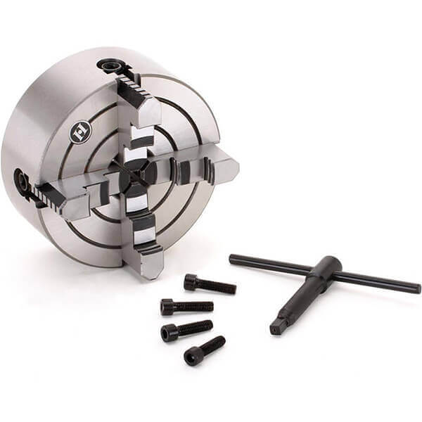 Steelex 4-Jaw Reversible Independent Lathe Chuck 6 Inch M1061