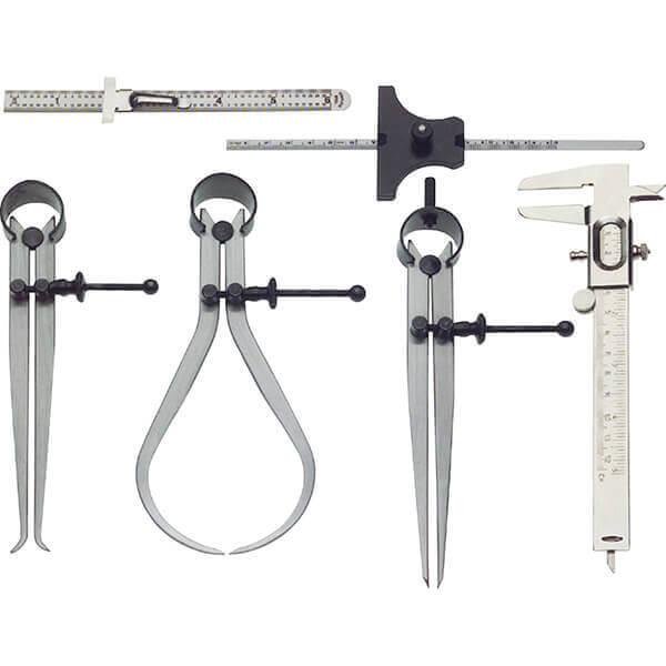 Steelex 6 Pc Caliper Measuring Set M1090