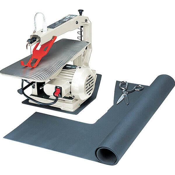 Shop Fox Premium Rubber Anti-Vibration Pad Black W1322