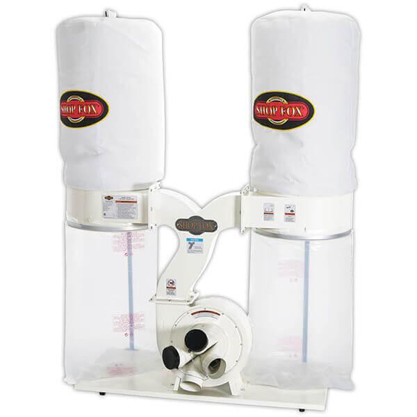Shop Fox 3 HP 2,800 CFM Dust Collector W1687