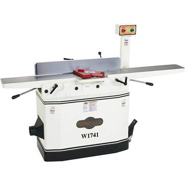 Shop Fox 8 Inch 3 HP Jointer with Adjustable Beds W1741