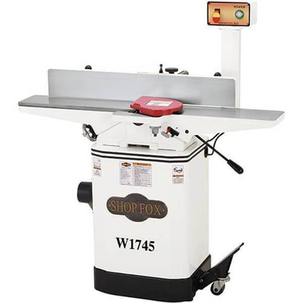 Shop Fox 6 Inch Jointer with Mobile Base W1745
