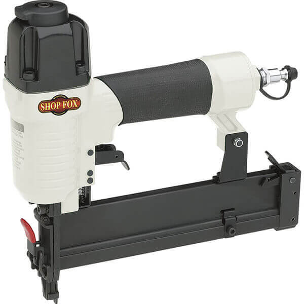 Air Stapler 18 Gauge Deep Pneumatic Kit 3/8 - 1-1/2 Shop Fox W1778