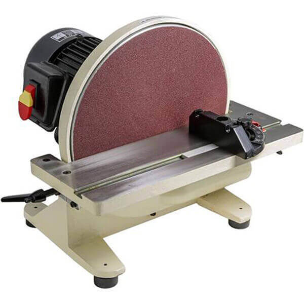 Shop Fox Electric Disc Sander 12 Inch with Tilting Table W1828