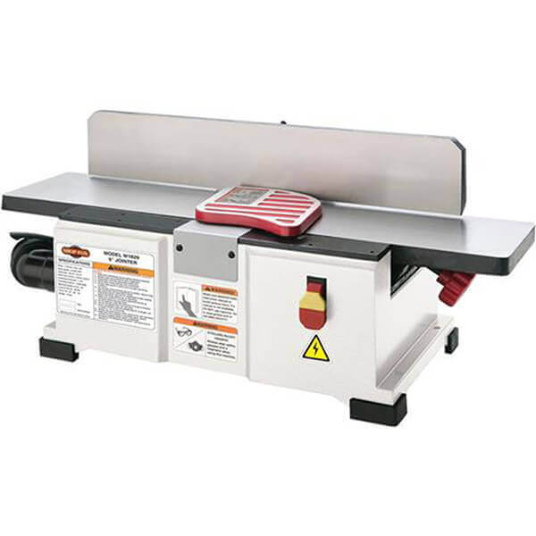 Shop Fox Benchtop Wood Jointer 1-1/2 HP 6 Inch W1829