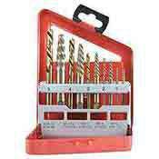Neiko 10 pc Screw Extractor and Bit Companion Set-Left Hand 01925A