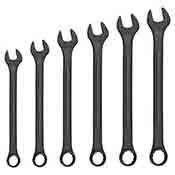 Neiko Tools 6 piece Jumbo SAE Wrench Set Black-Oxide 03125A