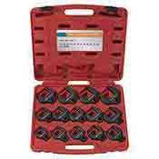 Neiko 14 piece Jumbo Crowfoot Wrench Set Metric 1/2 Inch Drive 03326A