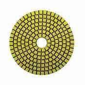 Diamond Polishing Pads 4 inch for Granite Marble Stone Wet 50 grit