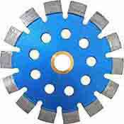 Tuckpointing Diamond Blade 7 inch for Brick Mortar .250 10 mm Segment
