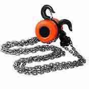 Chain Hoist Block Winch Manual Pulley Lift 1 Ton Capacity