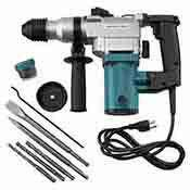 1 Inch Hammer Drill with 2 pc Drill Bits and Chisels