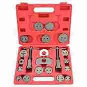 Brake Caliper Kit - 21 Pc Brake Caliper Wind Back Universal Tool Kit