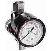 Tooluxe Air Regulator w 160 psi Dial Gauge 30225L