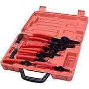 Snap Ring Pliers Set - 11 Pc. Snap Ring Tool Snapring Internal External