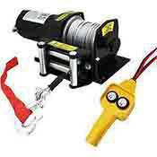 Electrc Cable Winch 2000 lb. 12 Volt ATV Vehicle