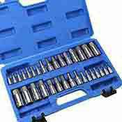32 Pc. Master Hex Bit Socket Set Metric and SAE Standard