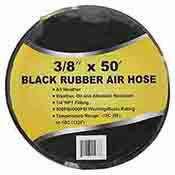 50 Black Rubber Air Hose 43421
