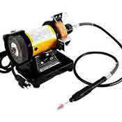 3 In. Small Bench Grinder Mini Electric Ginding Machine Flexible Shaft