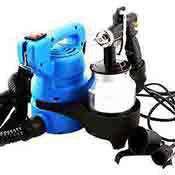Electric Paint Spray Gun Sprayer 600 Watt 800 ml Aluminum Tank
