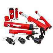 Porta Power Hydraulic Ram Auto Body Frame Repair Kit 7 Pc.