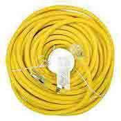 Extension Cord Electrical Indoor Outdoor 100 ft. 10 Ga.