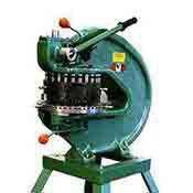 Tin Knocker 18 Station 8 Ton Hand Turret Punch