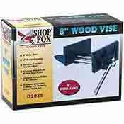 Shop Fox 8 Inch Wood Vise D2255