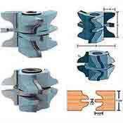 Roman Carbide Ogee Set for Entry Door DC2186
