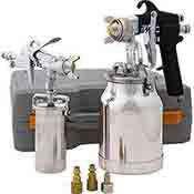 Shop Fox 2 Pc. Conventional Feed Paint Sprayer Set W1798